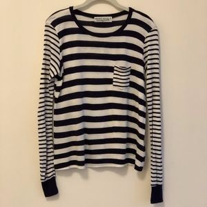 Urban Outfitters Project Social Striped LS Tee